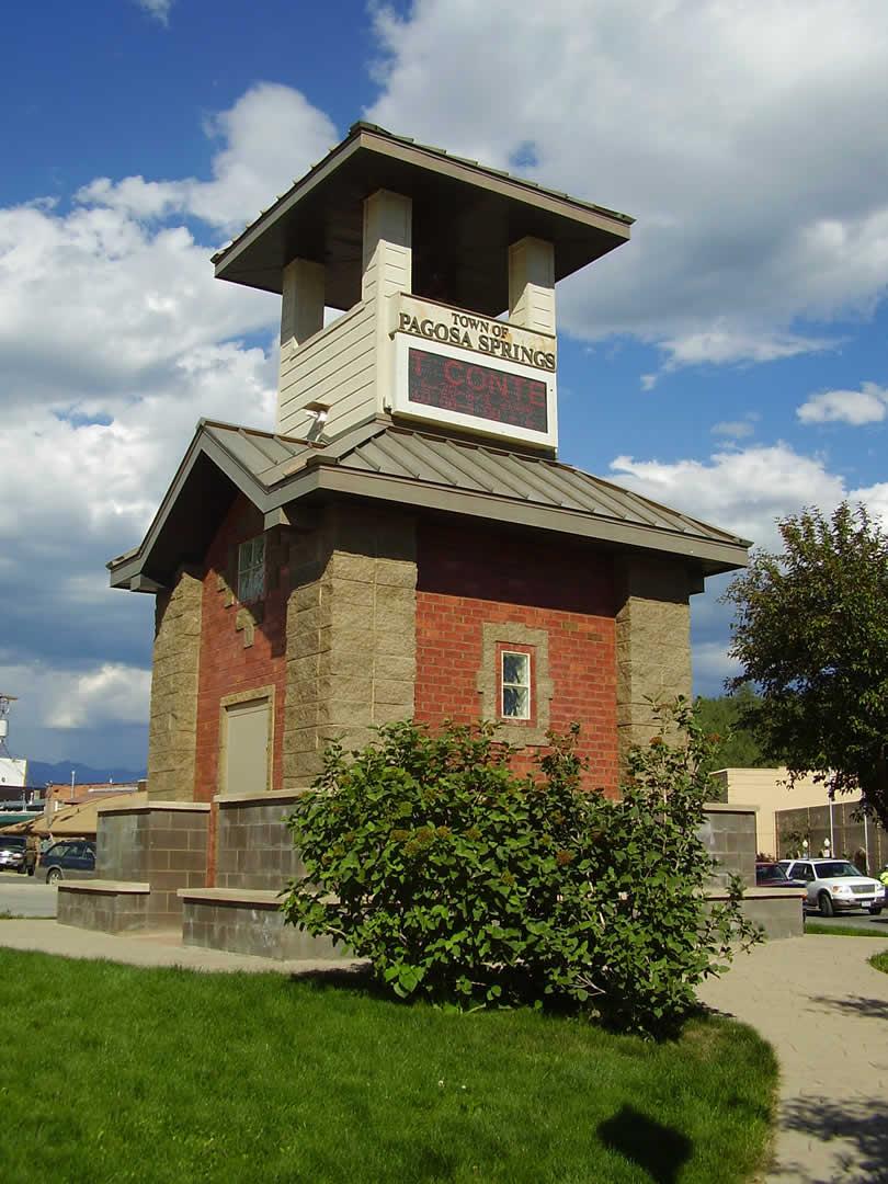 Tower of Pagosa Springs Colorado